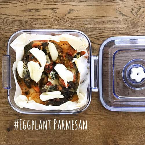 10 Recipes: Prepare Eggplant parmesan and after preserve them with Magic Vac